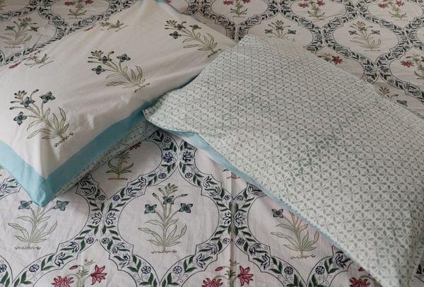 Handblock Print Bedsheet