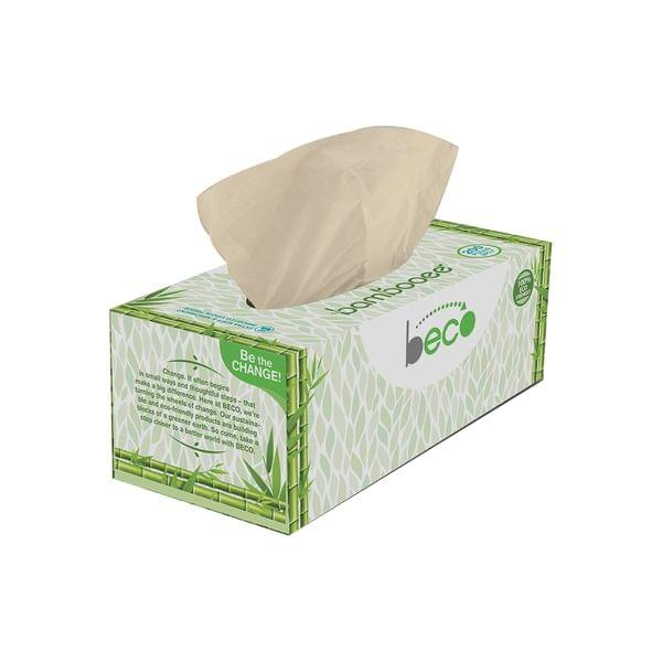 Bamboo Facial Tissue Carbox - 200 Pulls - Pack of 2