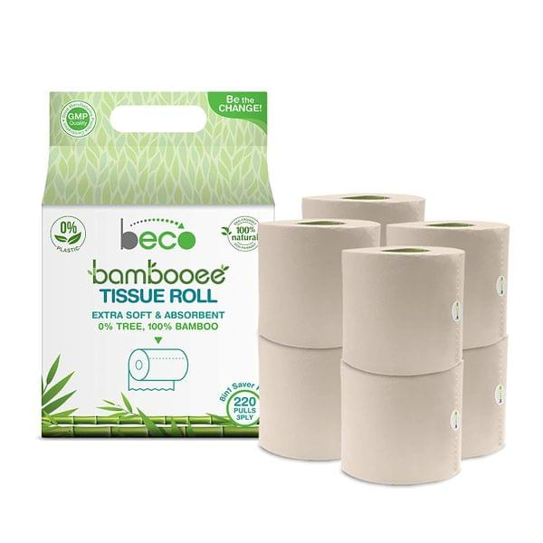 Toilet Tissue Roll (3 Ply) - 220 Pulls - 8in1 (Value Pack)